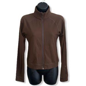 lululemon Brown Zippered Lightweight Run Jacket